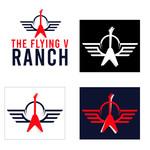 The Flying V Ranch Logo - Entry #15