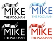 Mike the Poolman  Logo - Entry #85