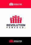 Revolution Fence Co. Logo - Entry #16