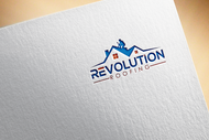 Revolution Roofing Logo - Entry #108