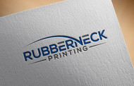 Rubberneck Printing Logo - Entry #27