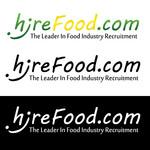 iHireFood.com Logo - Entry #100