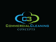 Commercial Cleaning Concepts Logo - Entry #108