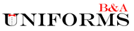 B&A Uniforms Logo - Entry #128