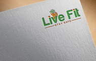 Live Fit Stay Safe Logo - Entry #71