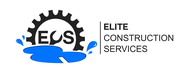 Elite Construction Services or ECS Logo - Entry #75