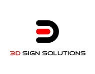 3D Sign Solutions Logo - Entry #148