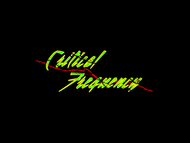 Critical Frequency Logo - Entry #1