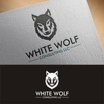 White Wolf Consulting (optional LLC) Logo - Entry #533