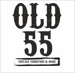 """""""OLD 55"""" - mid-century vintage furniture and wares store Logo - Entry #207"""