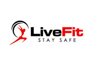 Live Fit Stay Safe Logo - Entry #246