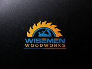 Wisemen Woodworks Logo - Entry #164