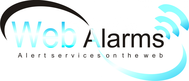Logo for WebAlarms - Alert services on the web - Entry #16