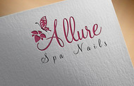 Allure Spa Nails Logo - Entry #61