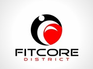 FitCore District Logo - Entry #85