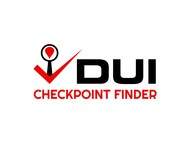 DUI Checkpoint Finder Logo - Entry #35