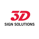 3D Sign Solutions Logo - Entry #129
