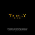 TRILOGY HOMES Logo - Entry #142