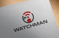 Watchman Surveillance Logo - Entry #95