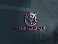 LiveDream Apparel Logo - Entry #297