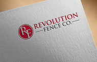 Revolution Fence Co. Logo - Entry #30