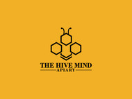 The Hive Mind Apiary Logo - Entry #45