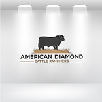 American Diamond Cattle Ranchers Logo - Entry #180