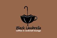 Black umbrella coffee & cocktail lounge Logo - Entry #108