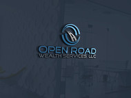 "Open Road Wealth Services, LLC  (The ""LLC"" can be dropped for design purposes.) Logo - Entry #55"
