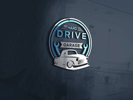 Hard drive garage Logo - Entry #366