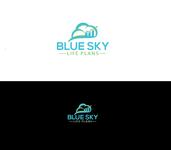 Blue Sky Life Plans Logo - Entry #184
