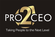 PRO2CEO Personal/Professional Development Company  Logo - Entry #21