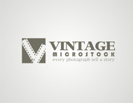 Vintage Microstock Logo - Entry #31
