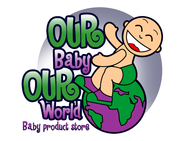 Logo for our Baby product store - Our Baby Our World - Entry #31