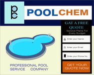 Pool Chem Logo - Entry #83