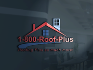 1-800-Roof-Plus Logo - Entry #10