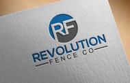 Revolution Fence Co. Logo - Entry #353