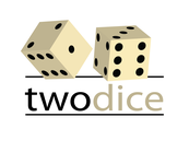 Two Dice Logo - Entry #37