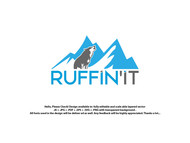 Ruffin'It Logo - Entry #131