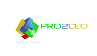PRO2CEO Personal/Professional Development Company  Logo - Entry #19