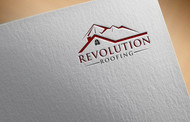 Revolution Roofing Logo - Entry #575