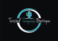 Twisted Turquoise Boutique Logo - Entry #198