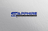 Sapphire Shades and Shutters Logo - Entry #15