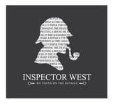 Inspector West Logo - Entry #179
