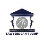 "charity basketball event logo (name with logo is ""lawyers can't jump"") - Entry #32"