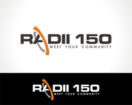 Radii 150 Logo - Entry #55