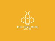 The Hive Mind Apiary Logo - Entry #44