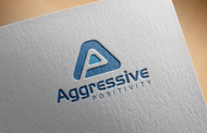 Aggressive Positivity  Logo - Entry #108