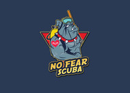 No Fear Scuba Logo - Entry #54