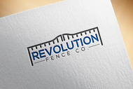 Revolution Fence Co. Logo - Entry #102